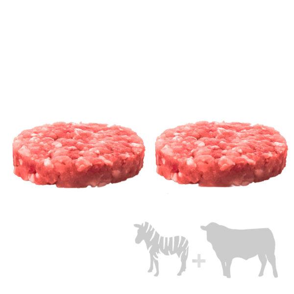 hamburguesa cebra mixta
